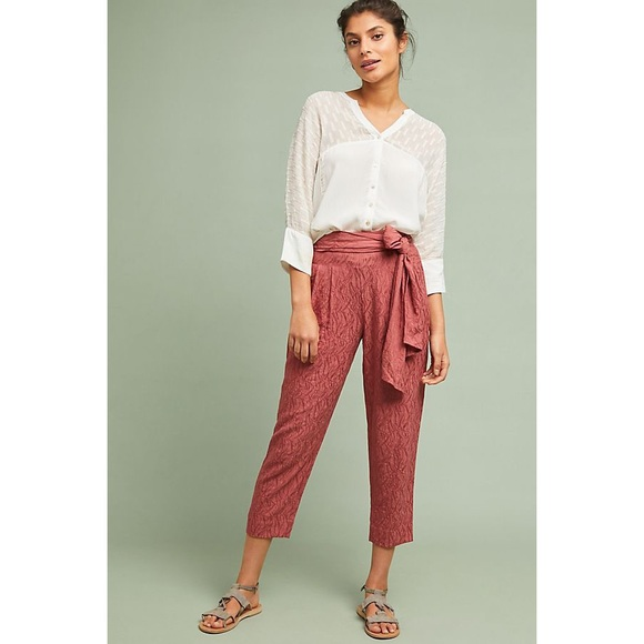 best quality amazing price save up to 80% Anthropologie Aubade Tie-Waist Pants NWT